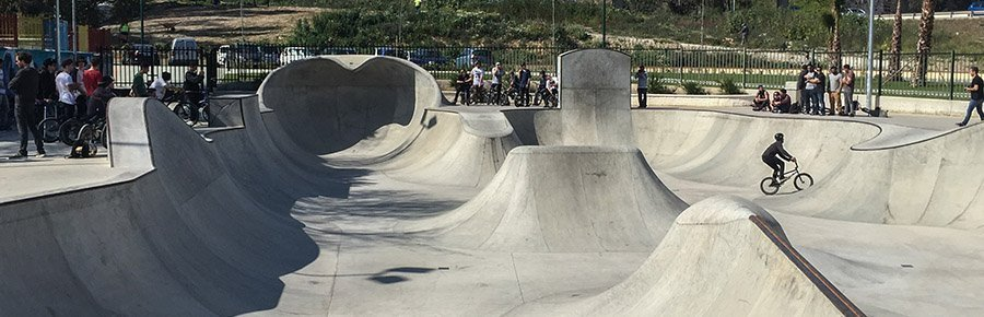 bowl skatepark malaga