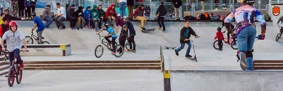 street plaza skatepark malaga
