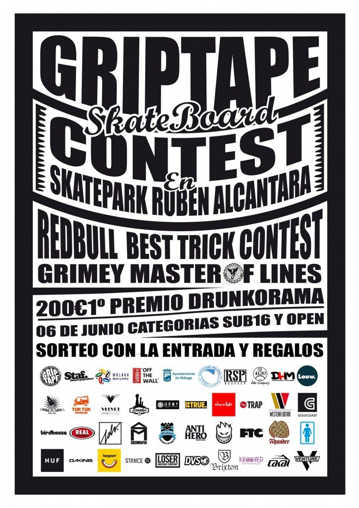 griptap skateboard contest malaga