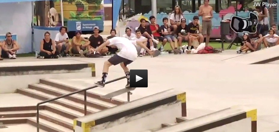 video griptape skateboard contest