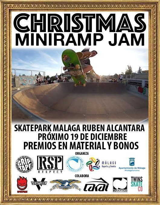 cartel miniramp jam copia