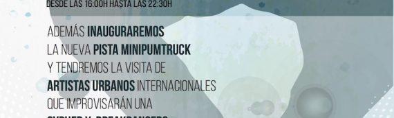 Segundo aniversario Skatepark Málaga … ven a celebrarlo